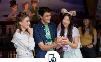 Mobile Ordering Using the Disneyland App
