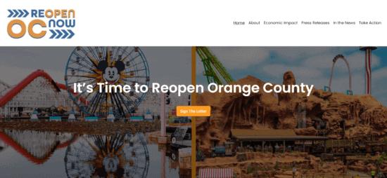 reopen orange county
