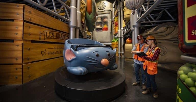 Remy's Ratatouille Adventure Ride Vehicle