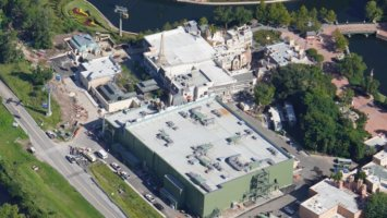 Aerial View of Remy's Ratatouille Adventure