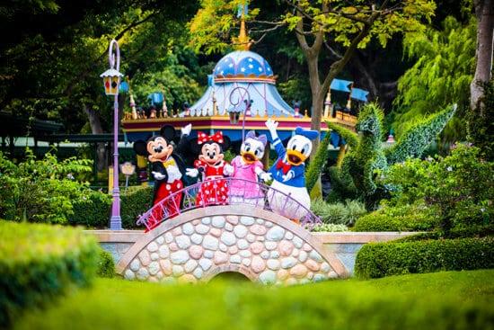 Hong Kong Disneyland Virtual Background