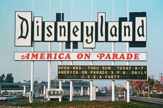 Disneyland Original sign