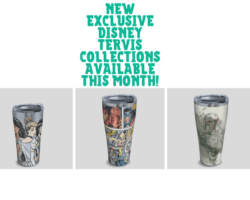 New Disney Tervis Collections!