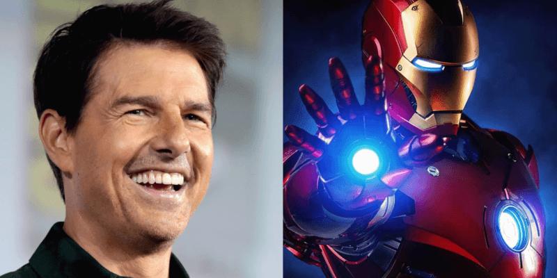 Tom Cruise as Iron Man