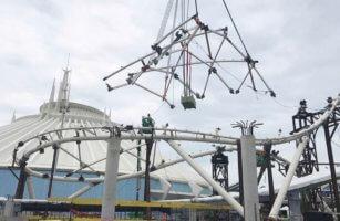 Construction Update for TRON Coaster at Walt Disney World