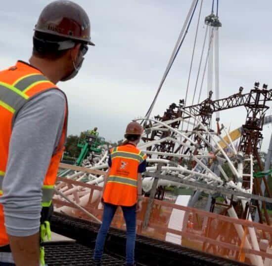 Disney Imagineers Work on New TRON Coaster
