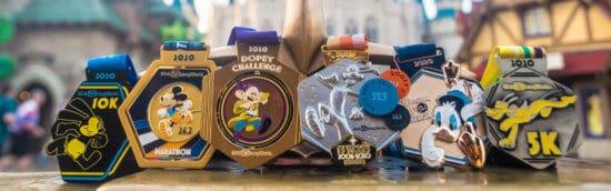 wdw marathon medals 2021 runDisney Races Go Virtual