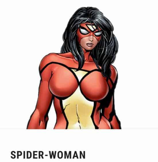 Jessica Drew aka Spider-Woman