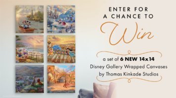 Thomas Kinkade Studios Giveaway - 6 Gallery Wrapped Canvases