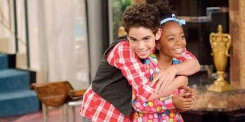 Skai Jackson and Cameron Boyce Jessie
