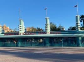 Disney California Adventure closed