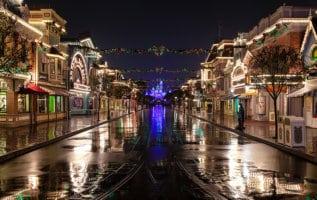 disneyland at night holidays