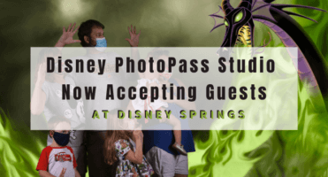 Disney PhotoPass Studio Accepting Guests header