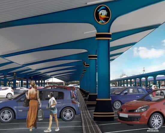 Solar Canopy Concept Art, DLP