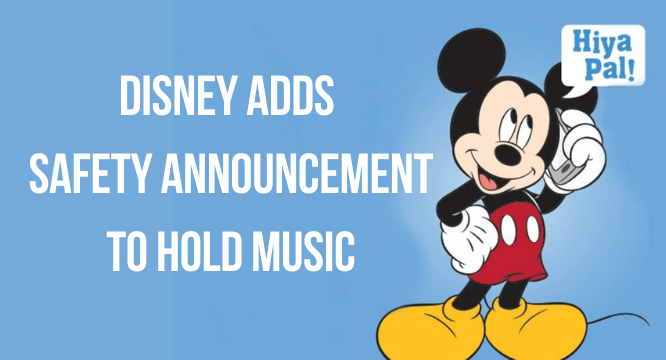 Safety Announcement to Hold Music header