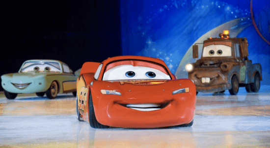 cars disney on ice