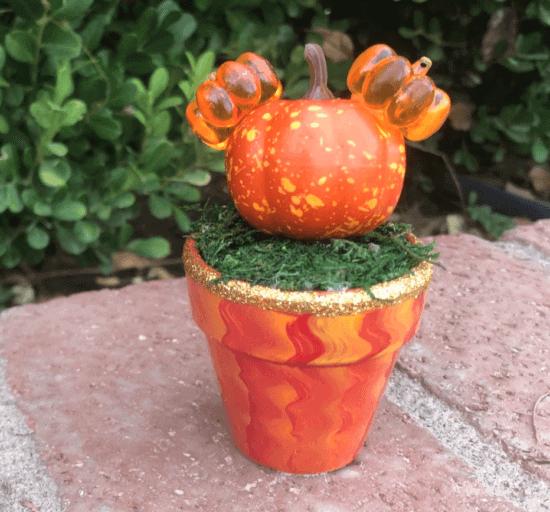 disney halloween succulent