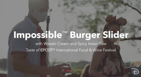 impossible burger epcot