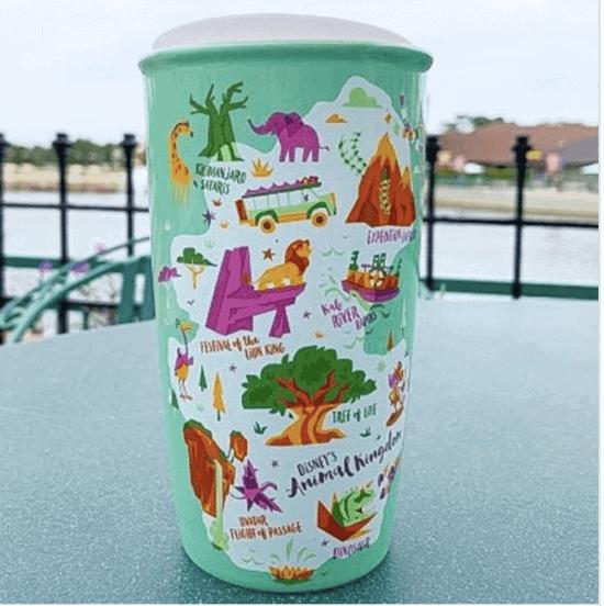 animal kingdom starbucks mug