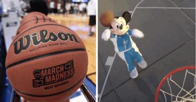 basketball bubble header