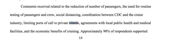 CDC cruise framework
