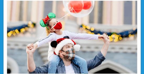Disney Christmas Face Masks