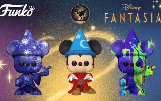 Sorcerer Mickey Pops