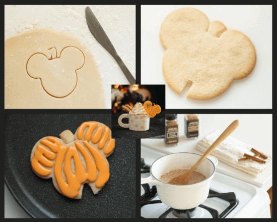 Pumpkin Spice Hot Cocoa collage