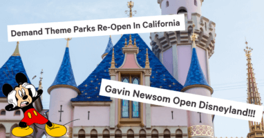 theme park reopening petition