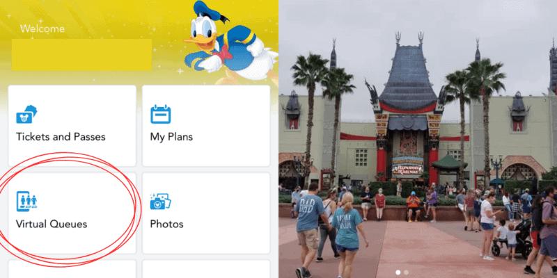 Disney World Virtual Queues