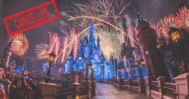 Disney World New Year's Eve 2021