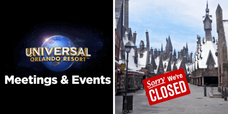 Universal Orlando Private Event