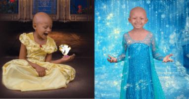 Cancer Patient Disney Princess Photos