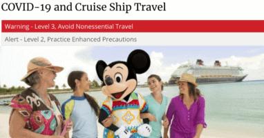 Disney Cruise Line CDC