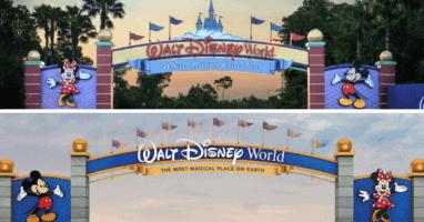 Disney World Entrance