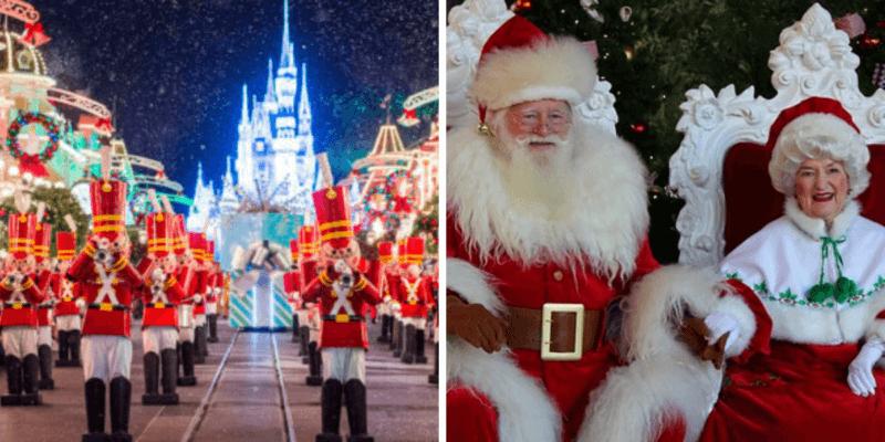 Christmas Cavalcades Disney World