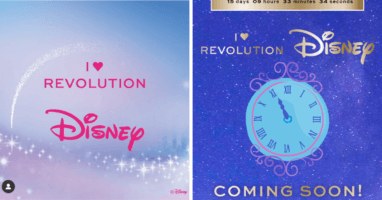 Disney and I heart Revolution Makeup Collaboration