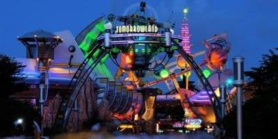tomorrowland at night