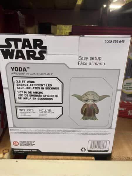 Yoda inflatable