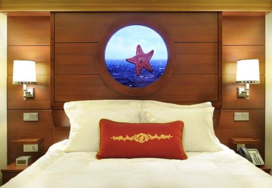 disney cruise line stateroom interior