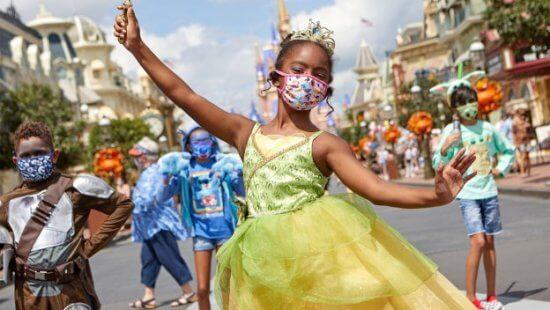 magic kingdom halloween face masks