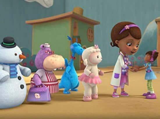 Doc McStuffins and friends
