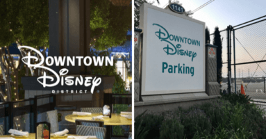 Downtown Disney to Add More Parking