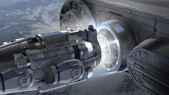 galactic starcruiser launch pod docking