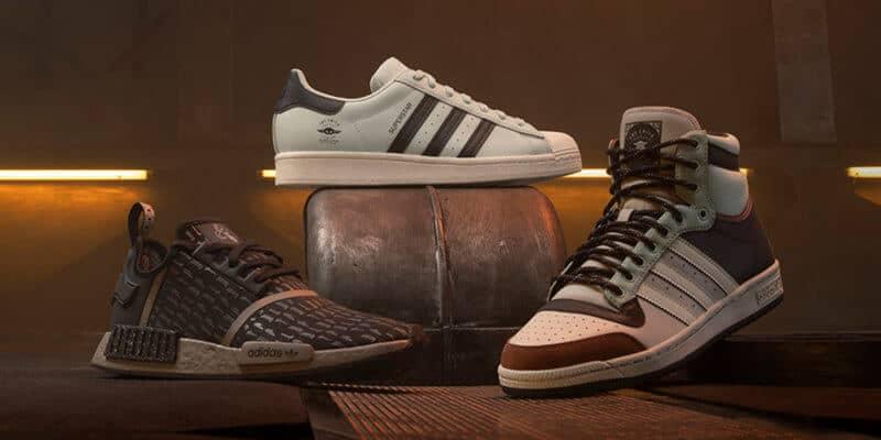 Mandalorian Adidas shoe collection