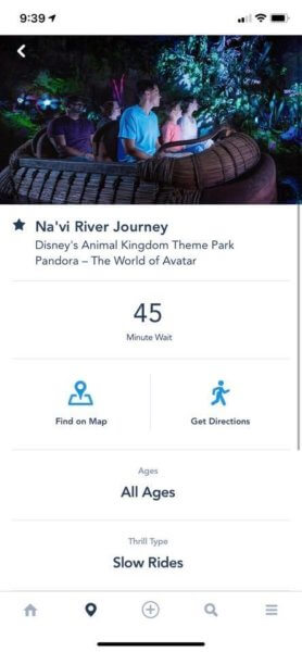 na'vi river ride time