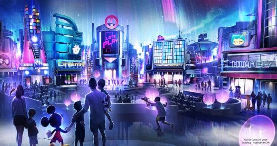 Epcot Play Pavilion Artist Concept