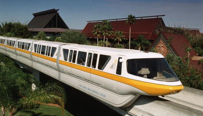 polynesian monorail