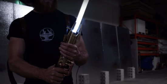 real lightsaber using plasma