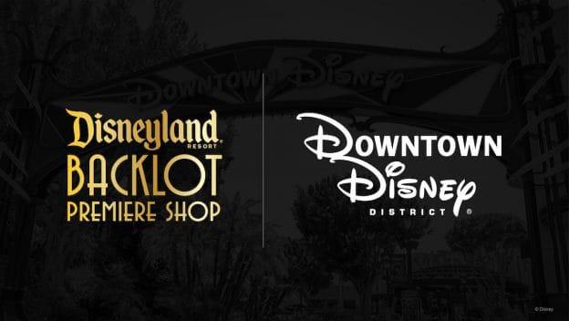 Disneyland Backlot Premiere Shop